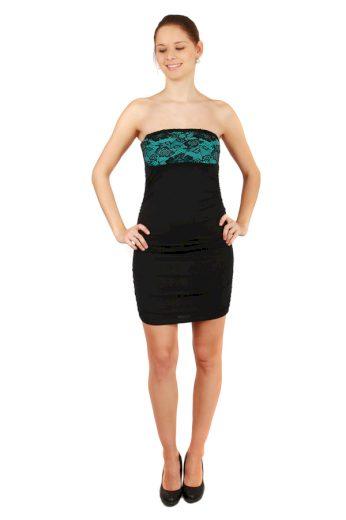 Glara Společenské mini šaty bez ramínek 32417