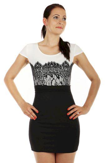 Glara Mini šaty s krátkým rukávem 53415