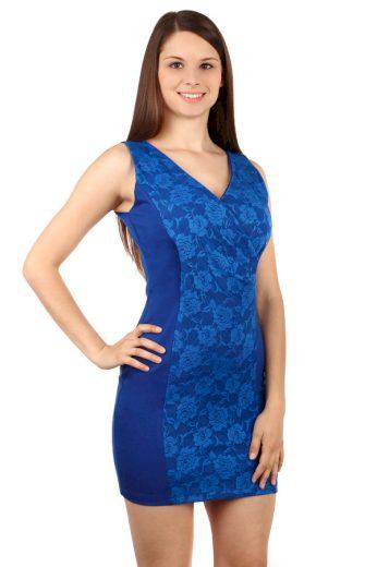Glara Krátké dámské krajkové sexy šaty 61734