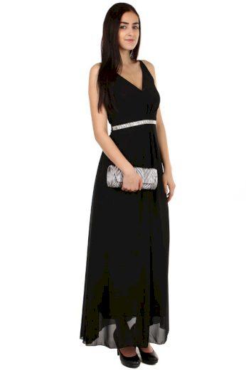 Glara Dámské dlouhé plesové šaty 105903