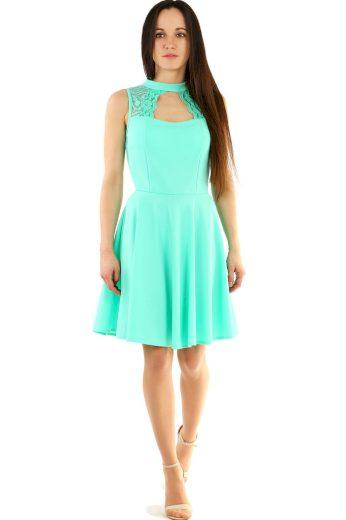 Glara Společenské šaty s krajkou do tanečních 421784