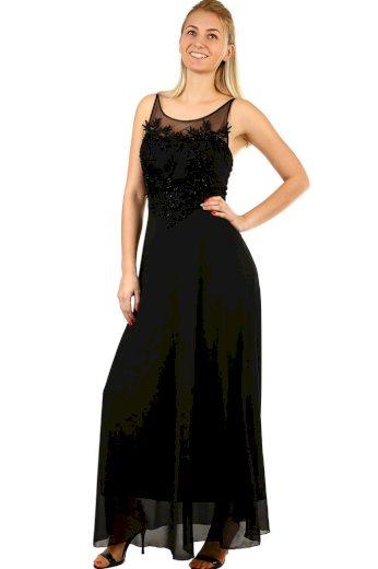 Glara Dlouhé společenské šaty na ples 418242