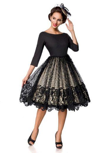 Glara Krajkové vintage šaty 425973