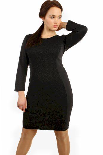 Glara Společenské černé šaty 425999