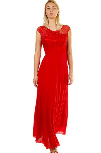Glara Dlouhé dámské šaty na ples 426060