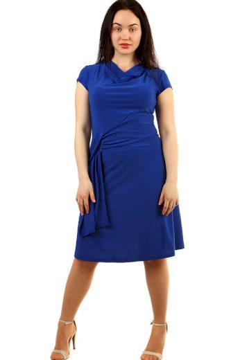 Glara Večerní společenské šaty s krátkým rukávem 432470