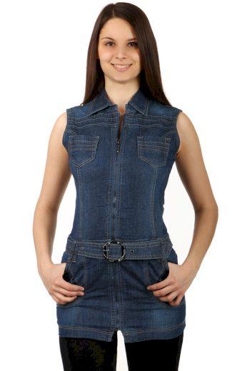 Glara Krátké dámské mini šaty k leginám 135308