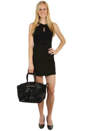 Glara Krátké šaty s odhalenými zády 59998