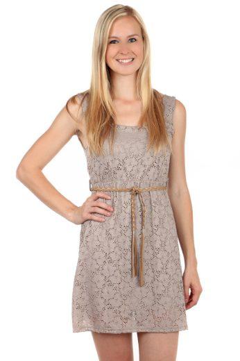 Glara Krajkované letní šaty s páskem 61009