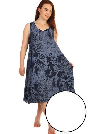 Glara Dlouhé letní květinové šaty 425120