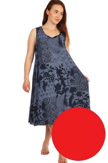 Glara Dlouhé letní květinové šaty 425122