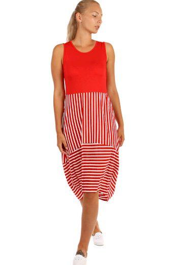 Glara Dlouhé letní šaty s proužky 241154