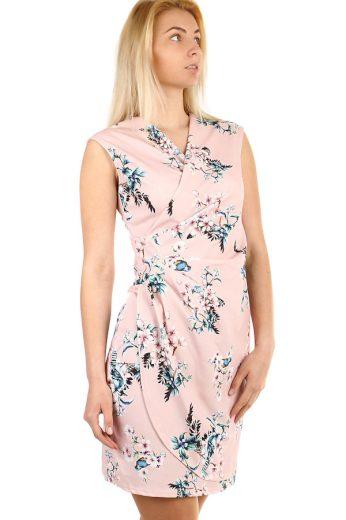 Glara Zavinovací dámské šaty s potiskem 312032
