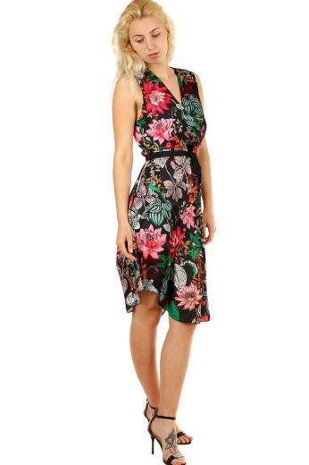 Glara Letní dámské šaty s květinovým vzorem 323398