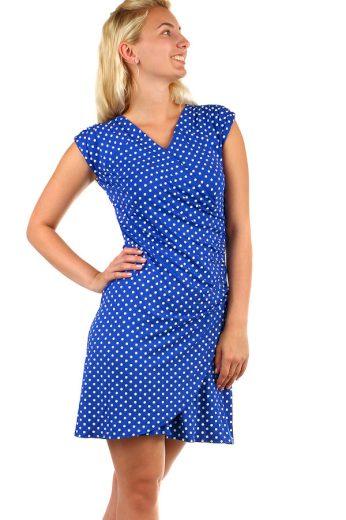 Glara Dámské zavinovací retro šaty s putníky 327070