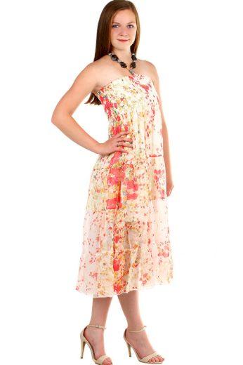 Glara Dámské letní dlouhé šaty 341841