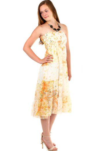 Glara Dámské letní dlouhé šaty 341850