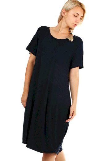 Glara Volné plážové jednobarevné šaty 349278