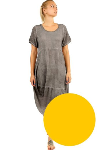Glara Plážové šaty volného střihu 535653