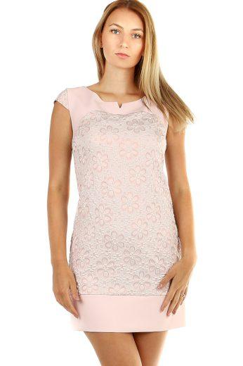 Glara Krátké letní šaty květované 468676