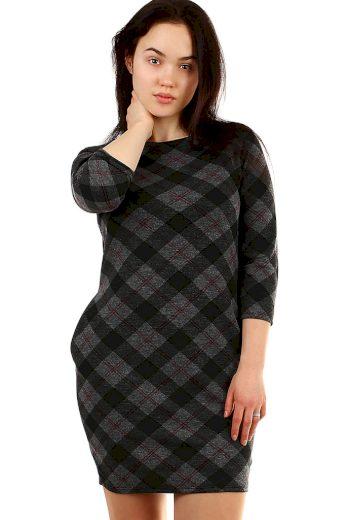 Glara Společenské oversized šaty s rukávem 431890
