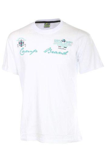 Glara Pánské bavlněné sportovní tričko s krátkým rukávem 40925