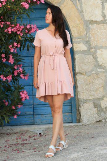 Glara Dámské společenské šaty s kanýrem 548663