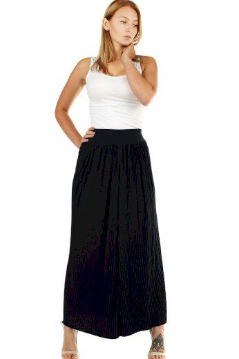 Glara Maxi sukně dámská plisovaná 472621