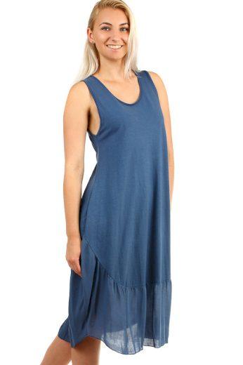 Glara Dámské midi plážové šaty i pro plnoštíhlé 345730