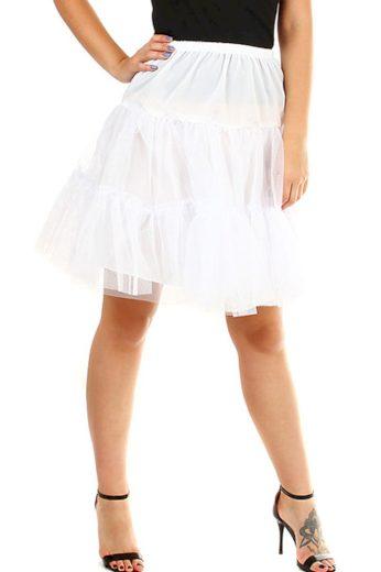 Glara Krátká tylová spodnička pod šaty a sukně 391333