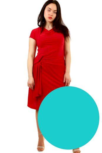 Glara Večerní společenské šaty s krátkým rukávem 565260