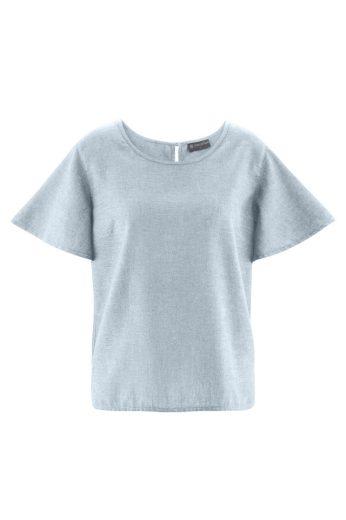 Glara Dámské tričko z konopí s volnými rukávy 560724