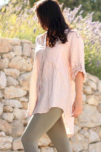 Glara Dámská lněná košile 557325