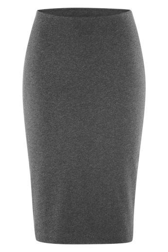 Glara Biobavlněná pouzdrová sukně 568739