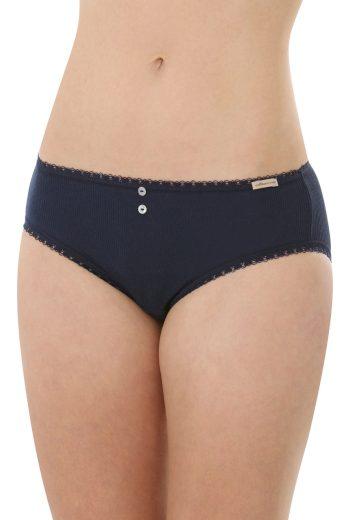 Glara Dámské organické kalhotky řádkové 578779