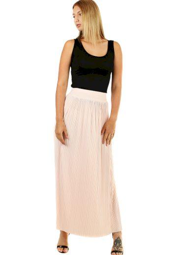 Glara Maxi sukně dámská plisovaná 468848