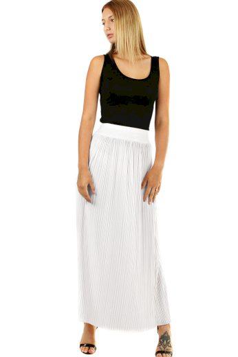 Glara Maxi sukně dámská plisovaná 594833