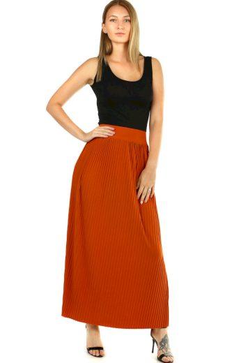 Glara Maxi sukně dámská plisovaná 594835