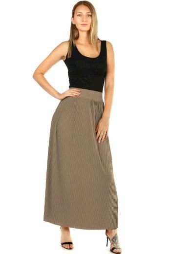 Glara Maxi sukně dámská plisovaná 594837
