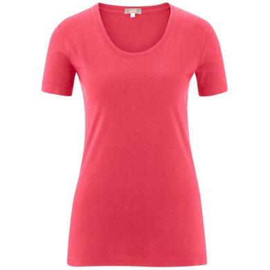 Glara Dámské tričko s krátkým rukávem z organické bavlny 551880