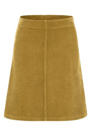 Glara Konopná dámská krátká sukně 596151