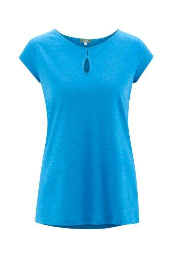 Glara Dámské eko tričko s lodičkovým výstřihem 605989