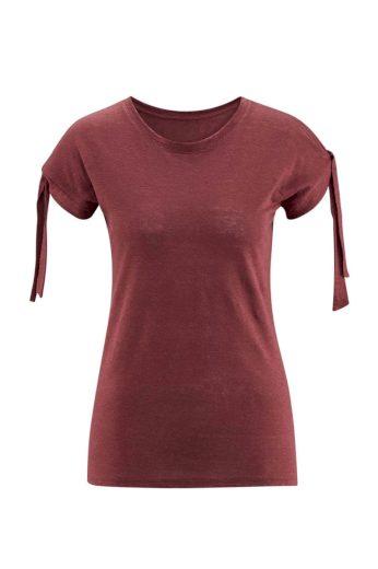 Glara Dámské lněné tričko 610982