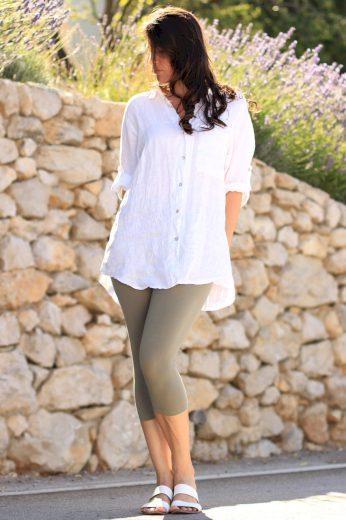 Glara Dámská lněná košile 557323