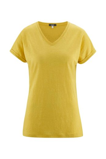 Glara Dámské letní tričko ze lnu 611100