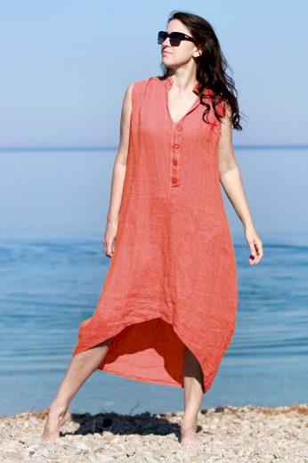 Glara Dámské letní šaty 100% len 658834