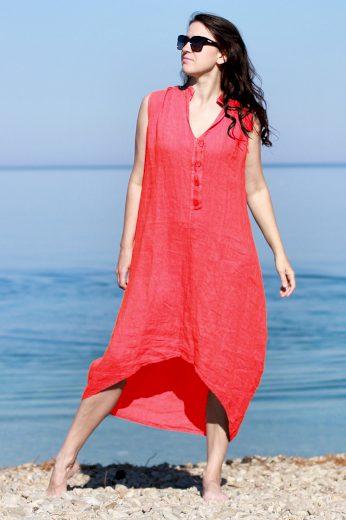 Glara Dámské letní šaty 100% len 658835