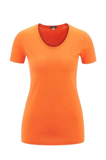 Glara Dámské tričko s krátkým rukávem z organické bavlny 669731