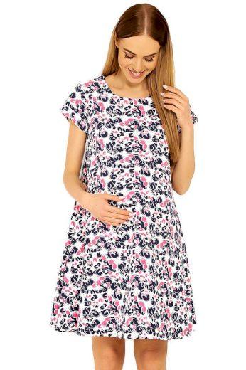 PeeKaBoo Těhotenské šaty Linde vzor květů