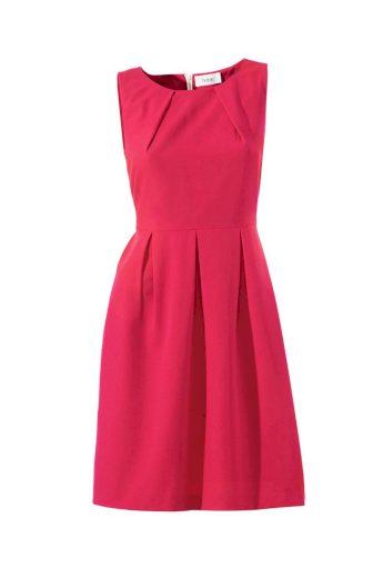 HEINE Dámské pouzdrové šaty HEINE, šaty červené